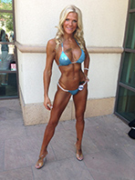 fitness bikini competitor scottsdale arizona posing coach