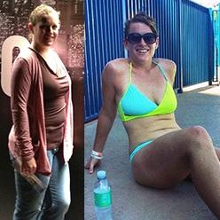 Fitness coaching weight loss success story scottsdale arizona
